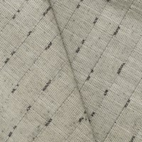 Gray/Taupe Textured Stripe Slub Woven Decorating Fabric