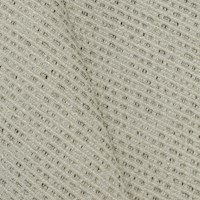 Pearl Taupe Beige Textured Broken Slub Woven Decor Fabric
