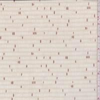 Beige/Copper Dash Print Cotton