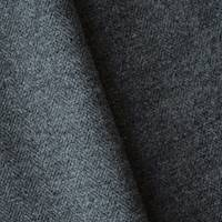 *2 YD PC--Concrete Gray Wool Blend Textured Twill Jacketing