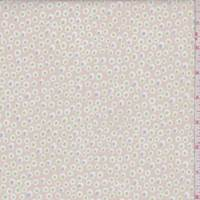 """Pink Beige """"Spotted"""" Print Cotton"""