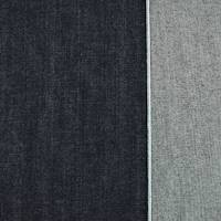 *5 3/4 YD PC--Shade Navy Blue Japanese Selvedge Denim Twill