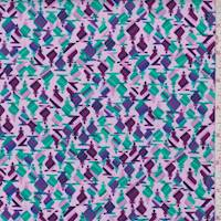 Orchid Pink Mythic Print Cotton