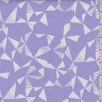 Lilac Geo Print Cotton