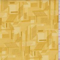 Sunny Yellow Abstracts Print Cotton