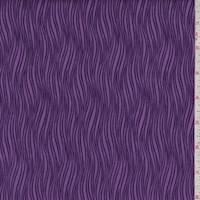 Lilac Waves Print Cotton
