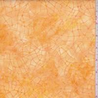 Gold/Yellow Crackle Cotton Batik