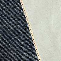*1 1/8 YD PC--Navy Cotton Japanese Selvedge Denim