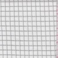 White/Grey Check Cotton Shirting
