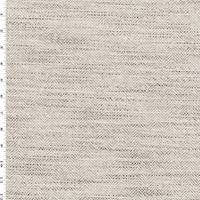 *6 YD PC--Beige/Brown Texture Herringbone Home Decorating Fabric