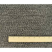 *1 YD PC--Brown/Grey Wool Blend Texture Sweater Knit
