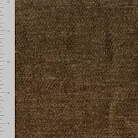 *1 1/8 YD PC--Mink Brown Cotton Textured Chenille Home Decorating Fabric