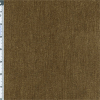 *1 1/8 YD PC--Brown Textured Chenille Home Decorating Fabric