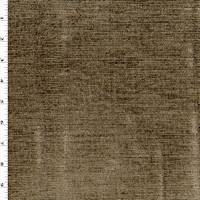 *1 1/8 YD PC--Brown/Golden Beige Textured Chenille Home Decorating Fabric