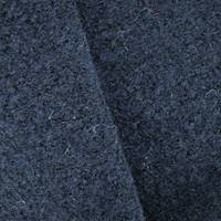 *2 1/2 YD PC--Midnight Navy Blue Wool Blend Boucle Knit Jacketing