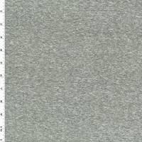 *4 3/4 YD PC--Heather Gray Slub Jersey Knit