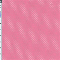 *2 5/8 YD PC--Bubble Gum Dobby Dot Knit