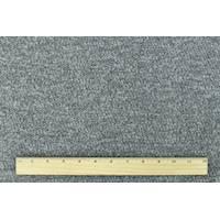 *2 1/4 YD PC--Stormy Gray Wool Blend Curly Fleece Sweater Knit