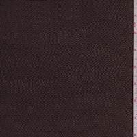 Dark Brown Hammered Silk Satin