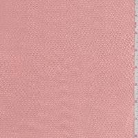 Light Peach Hammered Silk Satin