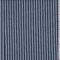 Deep Blue Stripe Cotton