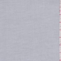 Pearl Grey Fine Line Twill Shirting