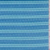 Dark Aqua/Seafoam Stripe Novelty Activewear