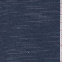 Dark Blue/Ivory Pinstripe Cotton Shirting