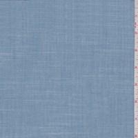 Blue Grey Plaid Shirting