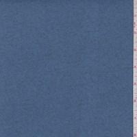 Heather Slate Blue Slubbed Sweater Knit