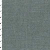 *1 YD PC--Gray Texture Wool Blend Shirting