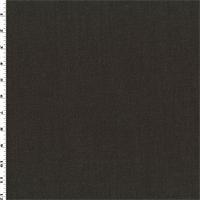 *7 YD PC--Coffee Brown Wool/Cotton Stretch Twill