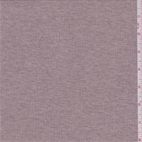*4 YD PC--Heather Pink Blush Ribbed Knit