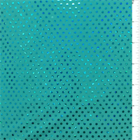 *4 1/4 YD PC--Sea Green Hologram Dot Activewear