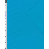 *5 1/2 YD PC--Cyan Blue Athletic Sport Jersey Knit
