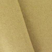 *2 5/8 YD PC--Cork Beige Brushed Wool Blend Doubleweave Jacketing