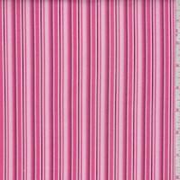 "Rose ""Baby Stripe"" Print Cotton"