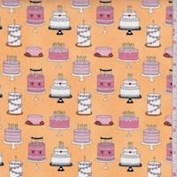 "Mango ""Cake Tiers"" Print Cotton"
