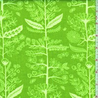 "Kiwi ""Charmed"" Floral Print Cotton"