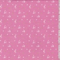 "Dark Rose ""Tink"" Print Cotton"
