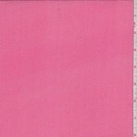 Coral Pink Hammered Silk Chiffon