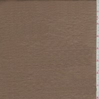 Pale Copper Brown Silk Shantung Satin
