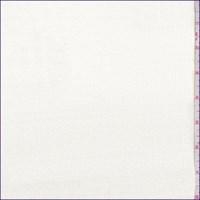 White Stretch Velveteen