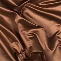 *1 YD PC--Caramel Silk Duchess Satin