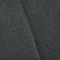 *1 YD PC--Charcoal Black Texture Wool Blend Twill Jacketing