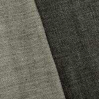 *2 YD PC--Volcanic Ash Black Cotton Selvedge Denim