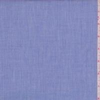 Ink Blue Mini Grid/Crosshatch Cotton Shirting
