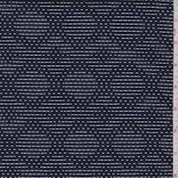 Navy/White Diamond Double Knit