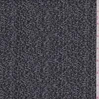 Black/Mist Textured Double Knit