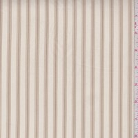 Parchment Stripe Shirting